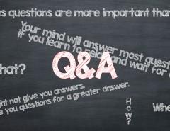 De vraag van ...